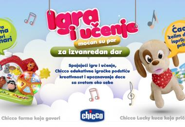 Recognition to Keprom for development of Chicco educational toys