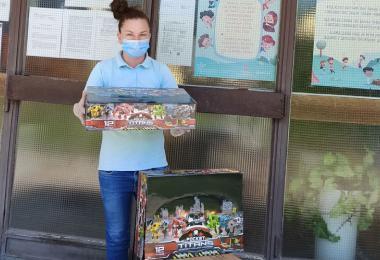 """Keprom makes a donation to """"Lastavica"""" kindergarten in Padinska Skela"""