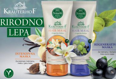 Kräuterhof Hair Masks - New Products Offered by Keprom