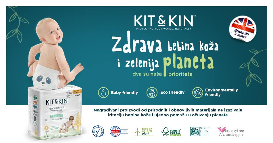 Kit&Kin nappies, wipes and skincare, new eco-friendly products in Keprom's range