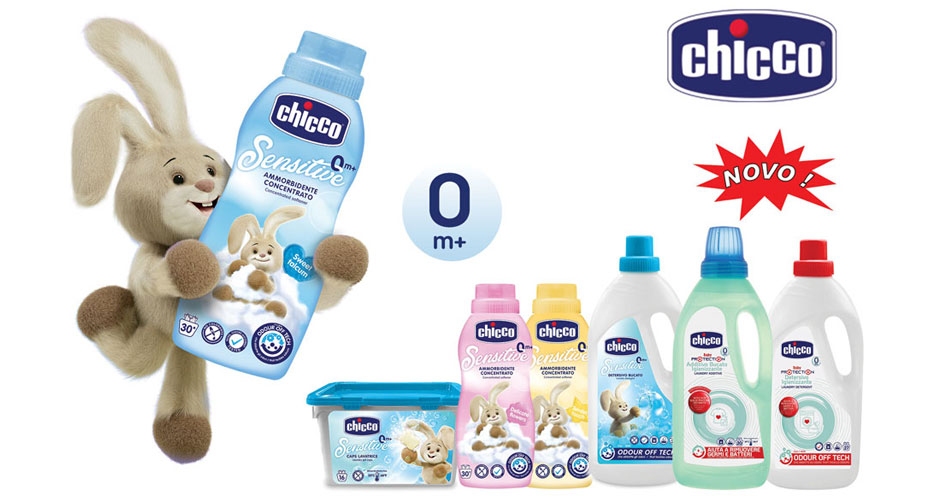 Laundry detergent and additive - new Chicco Home Care products
